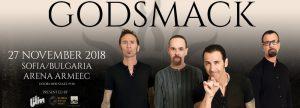 Godsmack идват за първи път в София