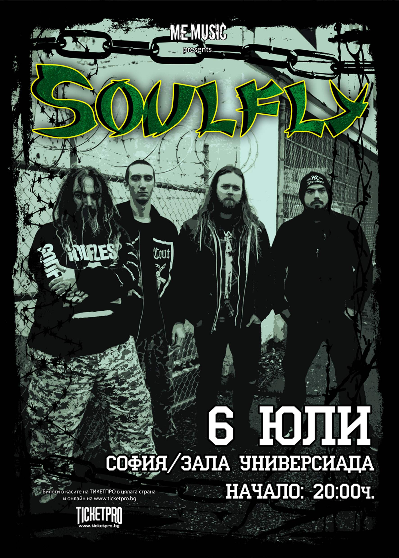 Soulfly Sofia