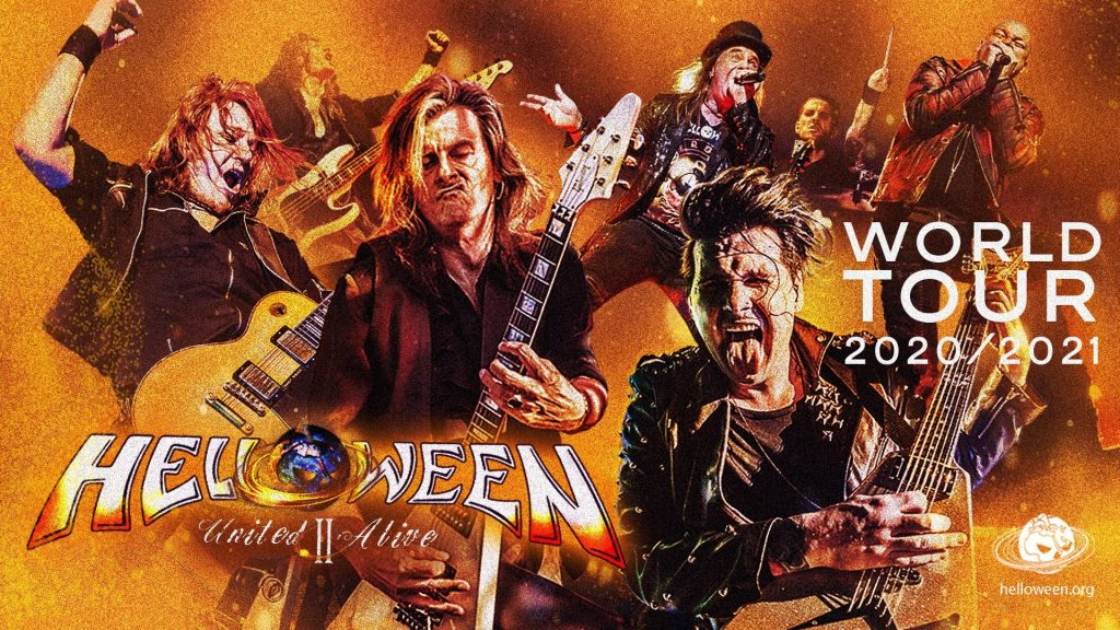 Helloween United II Alive poster