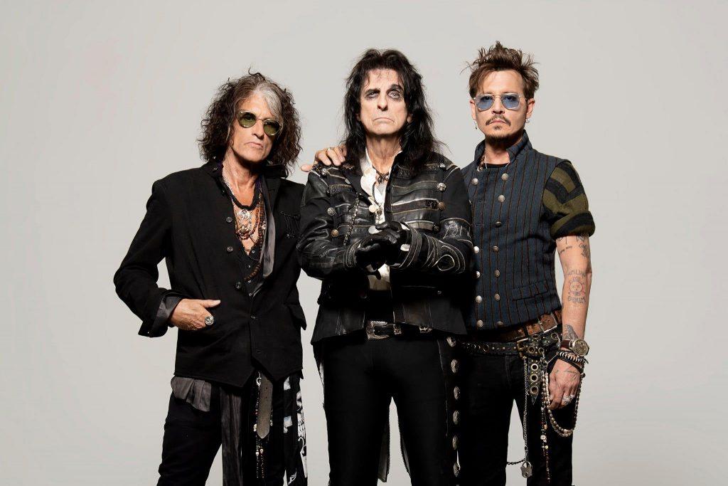 Hollywood Vampires (Johnny Depp, Alice Cooper, Joe Perry)